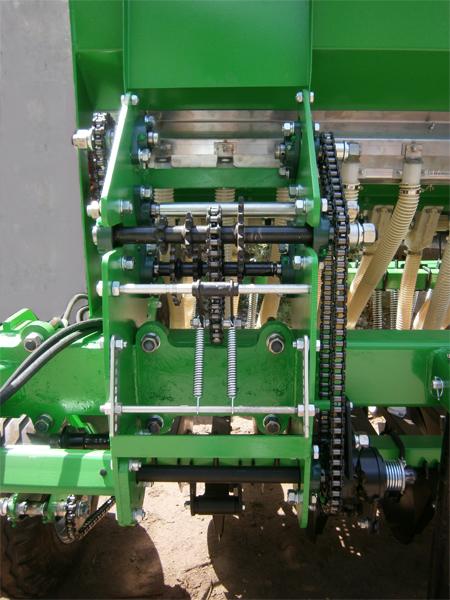 Коробка регулировки высева семян сеялки Ника-6