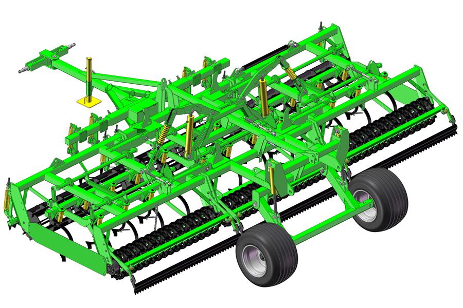 Seedbed Kombi Unit Forward-6 Veles Agro