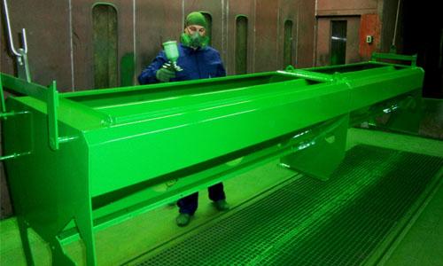 Neue F?rbungstechnologie von Veles Agro