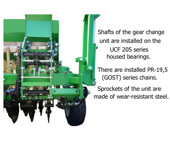 Box adjust seeding drills SZM-4