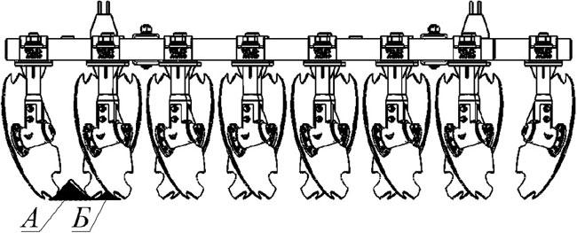 Регулировка междуследия дисковой бороны Велес Агро