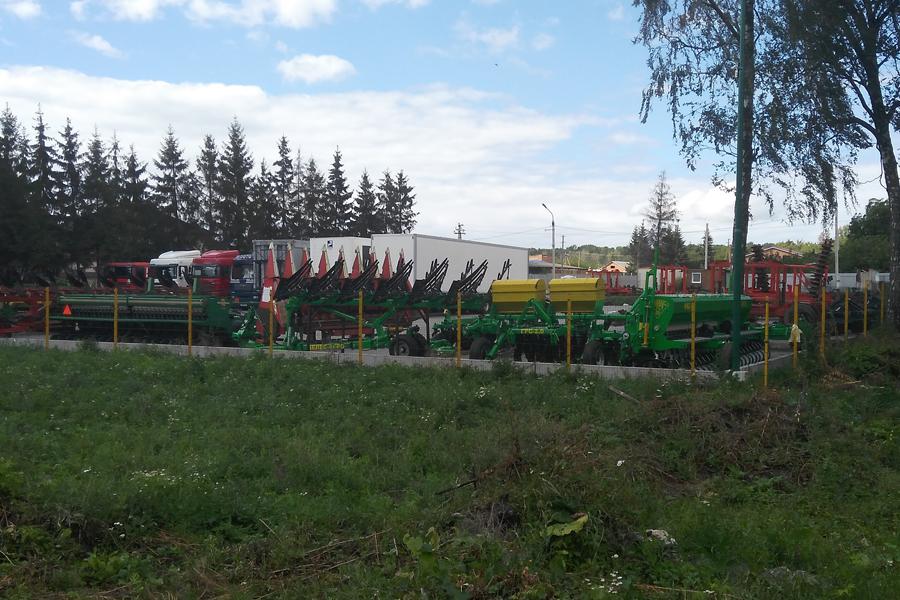 Выставочная площадка Велес-Агро Винницкая область