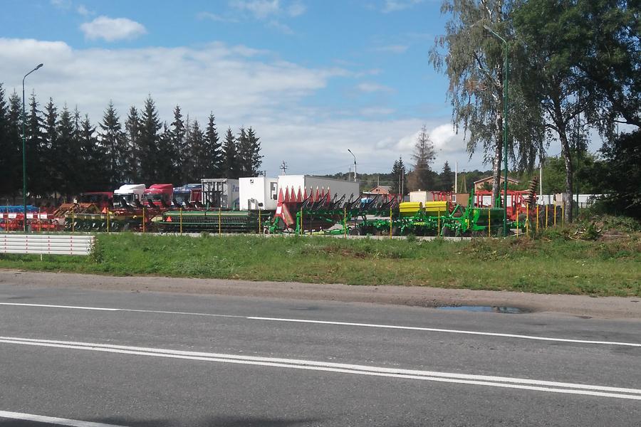 Выставочная площадка Велес-Агро Винницкая область Немировское шоссе