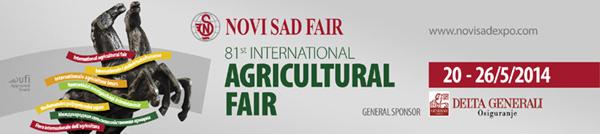Landwirtschaftsmesse 2014 Serbien Veles Agro