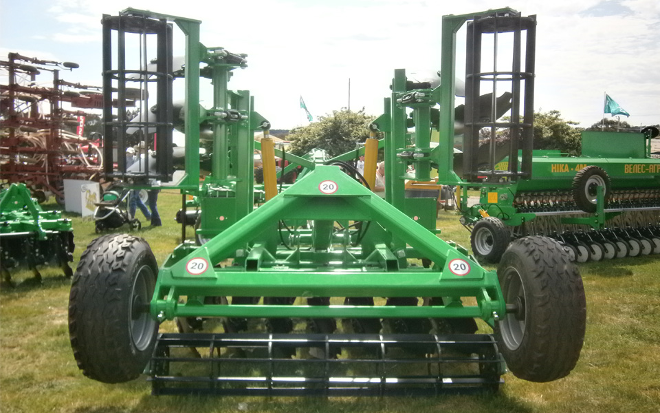 Australian National Field Days борона дисковая АГМ-4,2 Велес Агро