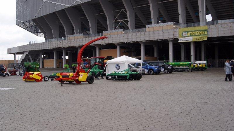 VELES AGRO специализированная выставка «Агротехника 2017» Львов