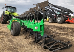 semi-mounted reversible plow