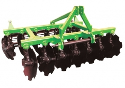 Disc harrows Hinged lightweight