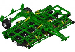 KRONOS 5 Compact disc harrow with knife rollers