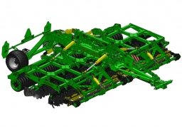KRONOS 6 Compact disc harrow with knife rollers